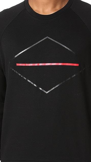 Rag & Bone Diamond Print Pullover