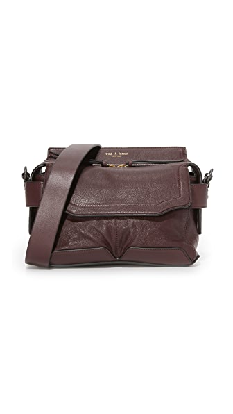 Rag & Bone Micro Pilot Satchel - Bordeaux
