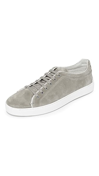 Rag & Bone Kent Suede Lace Up Sneakers