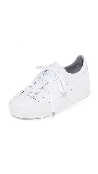 Rag & Bone Linden Platform Sneakers - White
