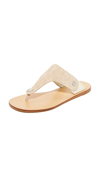 Rag & Bone Luna Flip Flops - Stucco