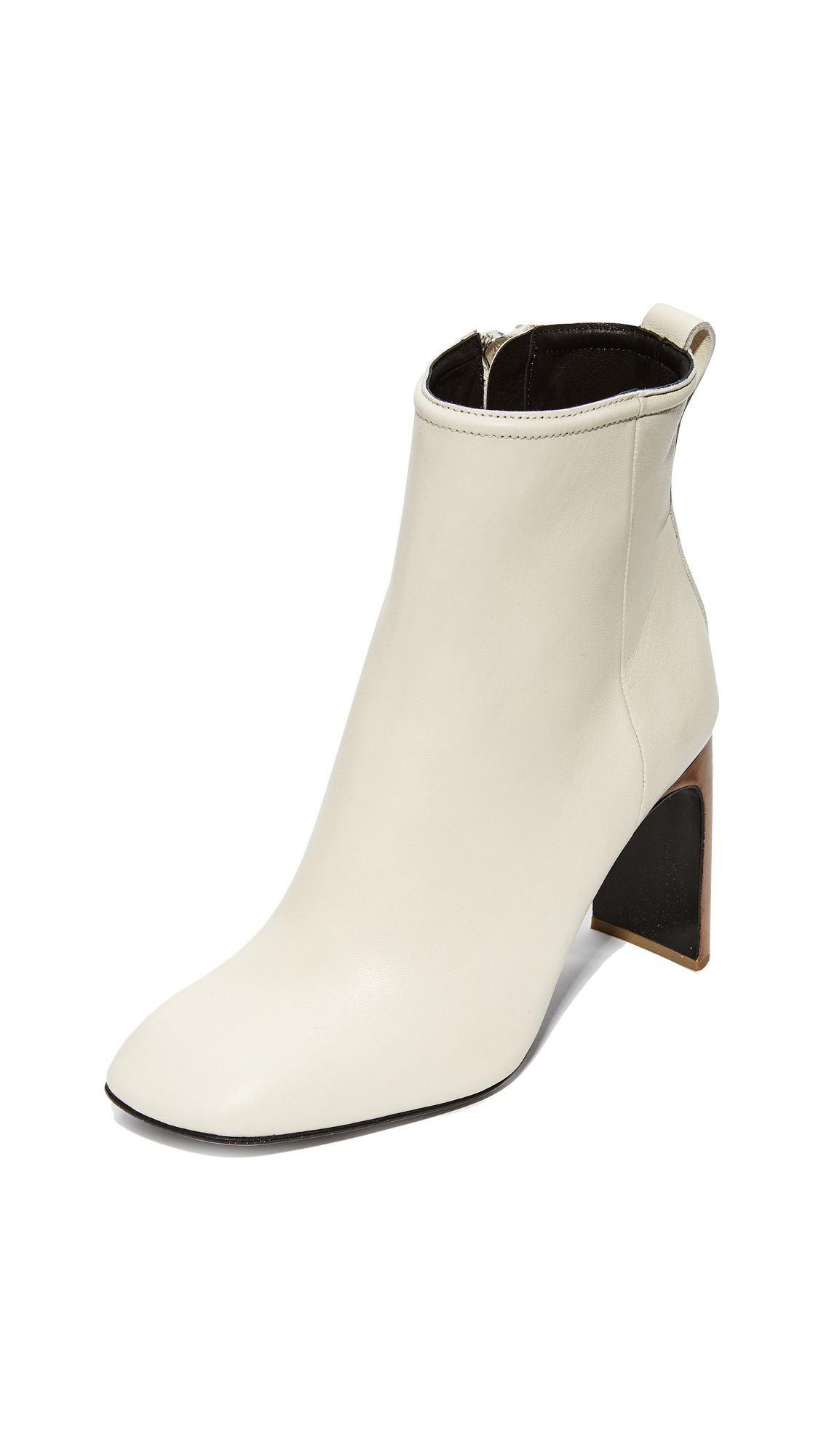 Rag & Bone Ellis Booties - Ivory