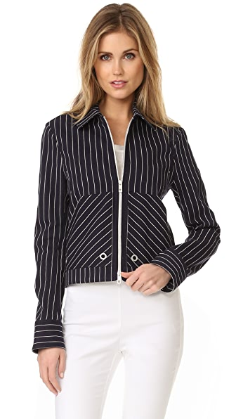 Rag & Bone Harris Jacket In Navy/Ivory