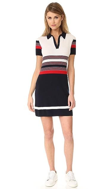 Rag & Bone Krista Stripe Polo Dress