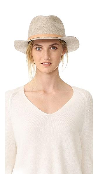 Rag & Bone Складная шляпа-федора Abbott
