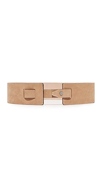 Rag & Bone Linden Waist Belt In Natural