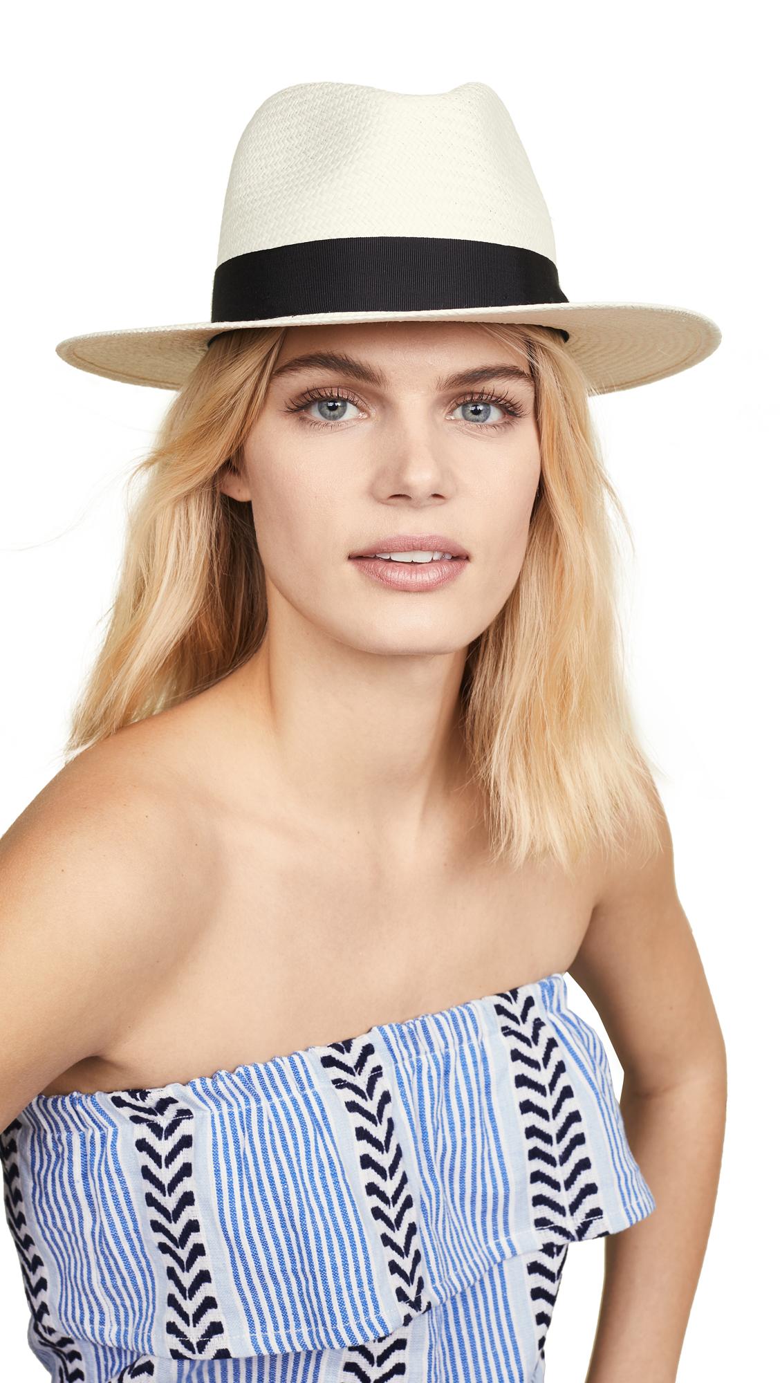 Rag & Bone Panama Hat - White