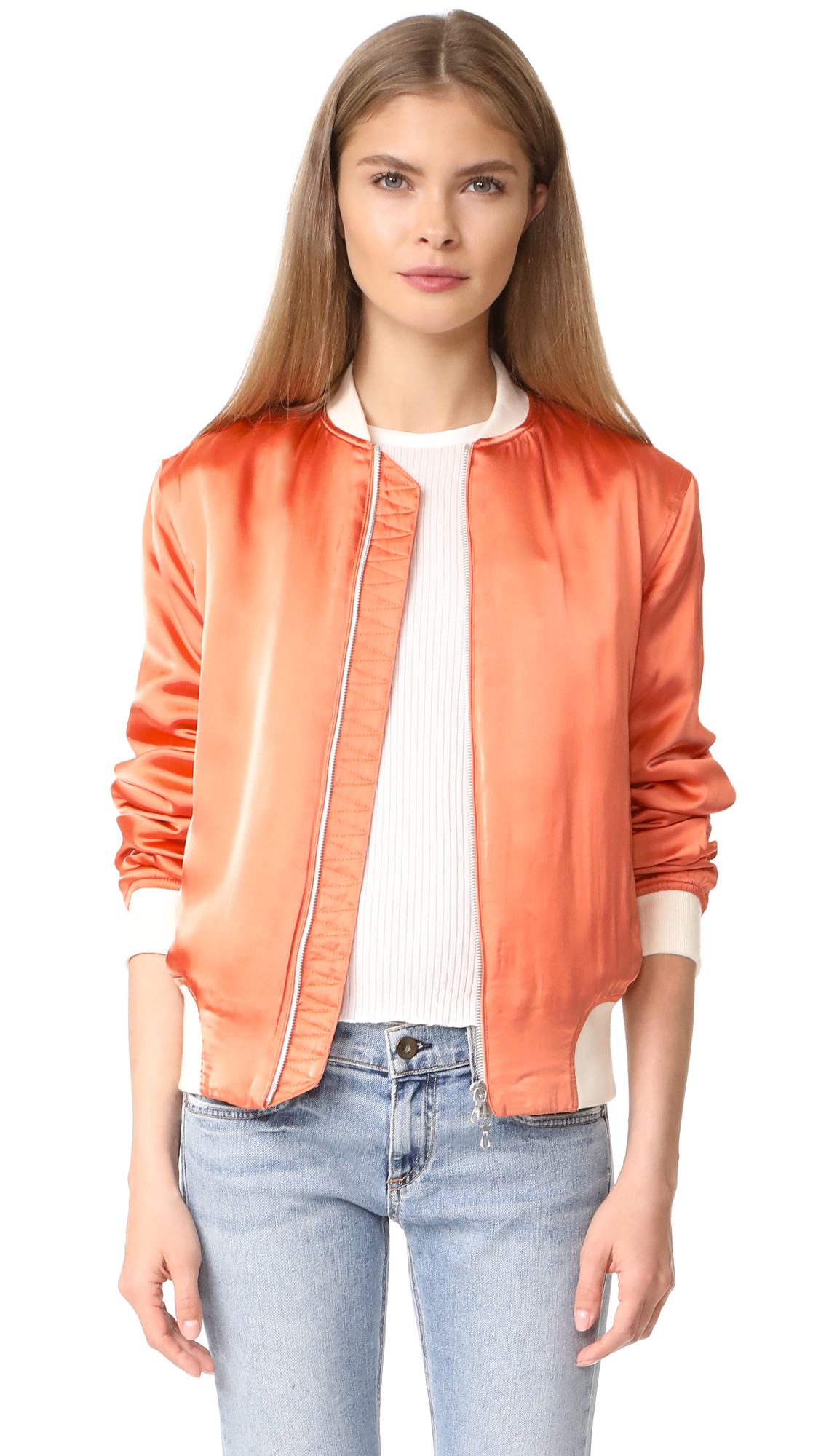 Rag & Bone Morton Bomber Jacket - Sunset