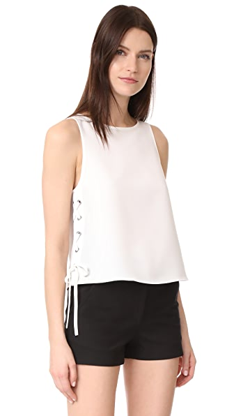 Rag & Bone Eliza Top In Chalk