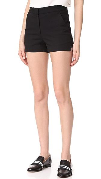 Rag & Bone Carson Shorts In Black