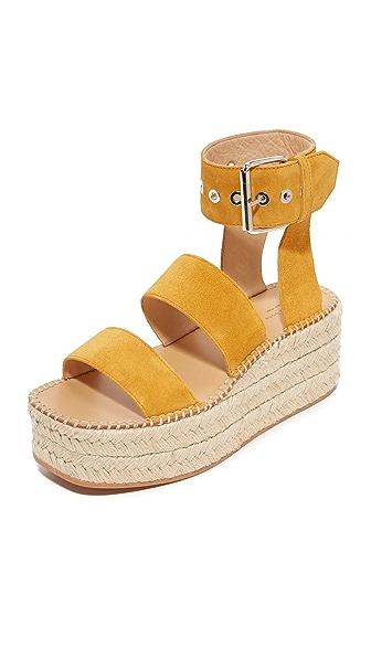 Rag & Bone Tara Platform Sandals - Marigold