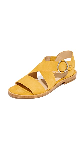 Rag & Bone Brie Sandals In Marigold