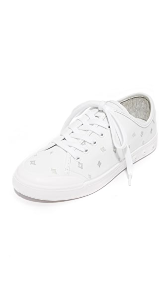 Rag & Bone Standard Issue Lace Up Sneakers In White