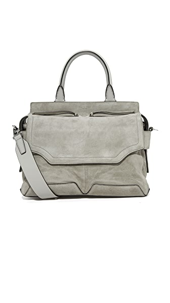 Rag & Bone Pilot Satchel - Cement