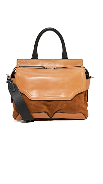 Rag & Bone Pilot Satchel - Tan