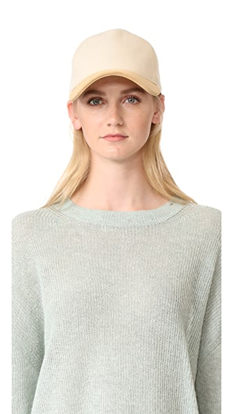 Rag & Bone Marilyn Baseball Cap - Cream
