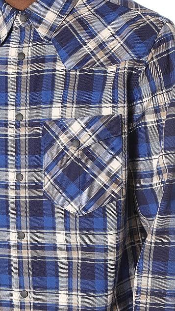 Rag & Bone Walker Flannel Plaid Shirt