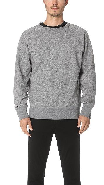 Rag & Bone Tweed Racer Sweatshirt