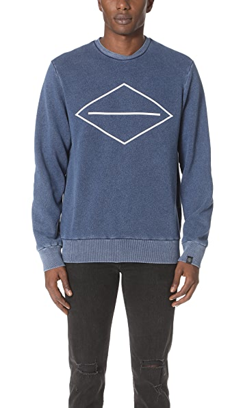 Rag & Bone Graphic Indigo Sweatshirt