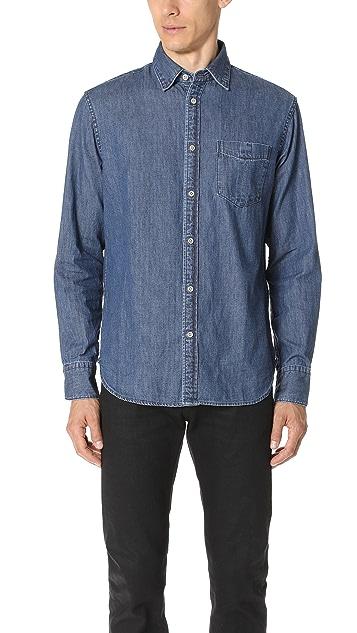 Rag & Bone Fit 3 Denim Shirt