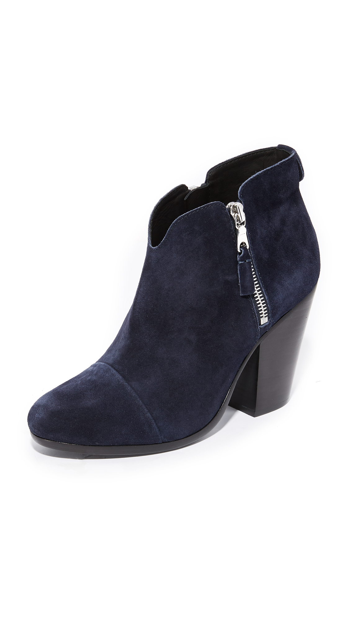 Rag & Bone Margot Booties - Navy