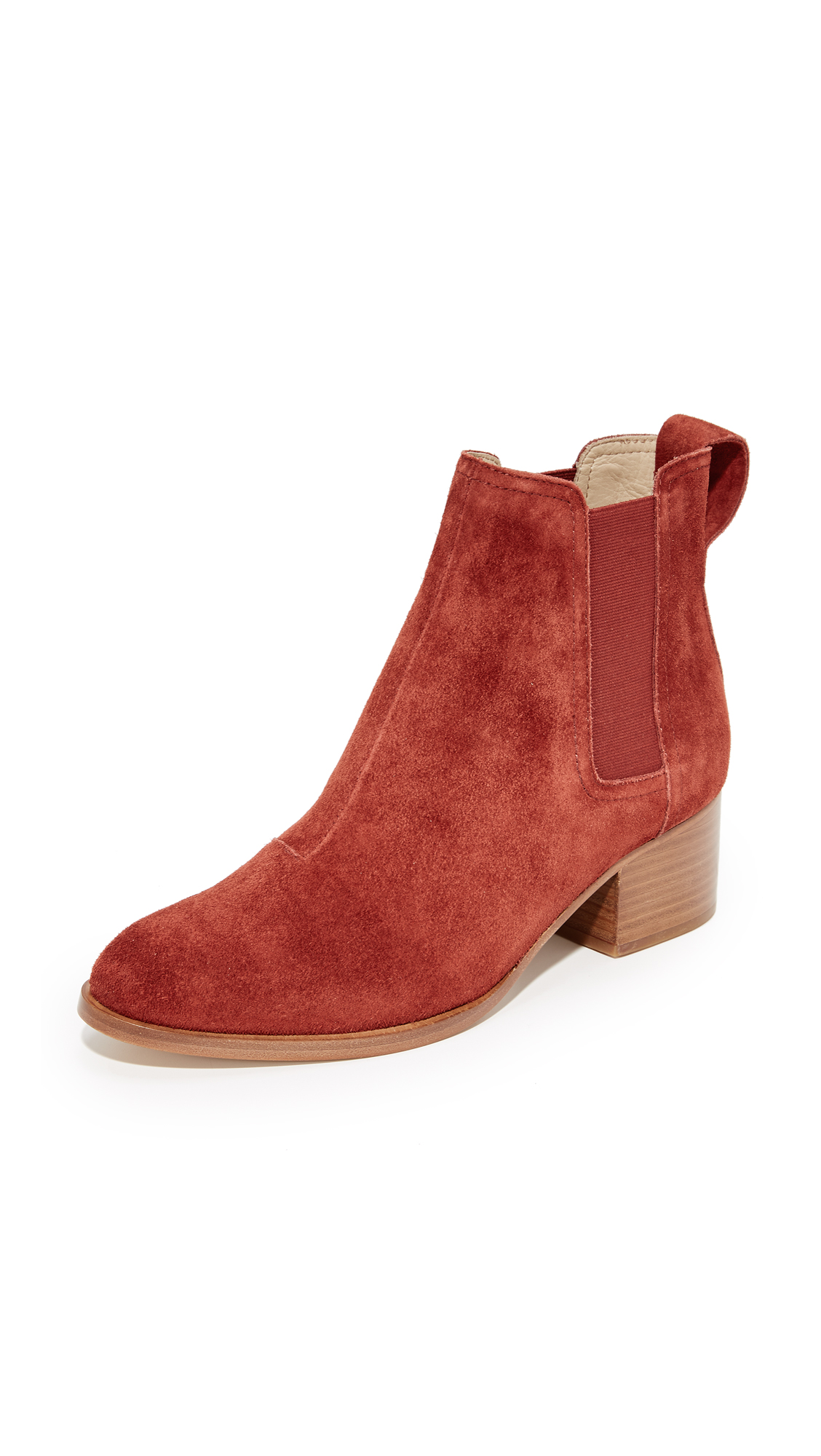 Rag & Bone Walker Boots - Rust