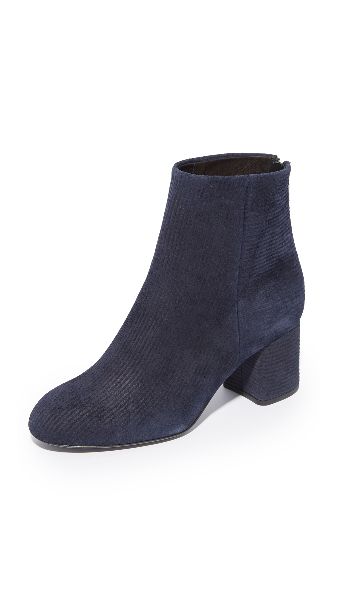 Rag & Bone Drea Booties - Navy