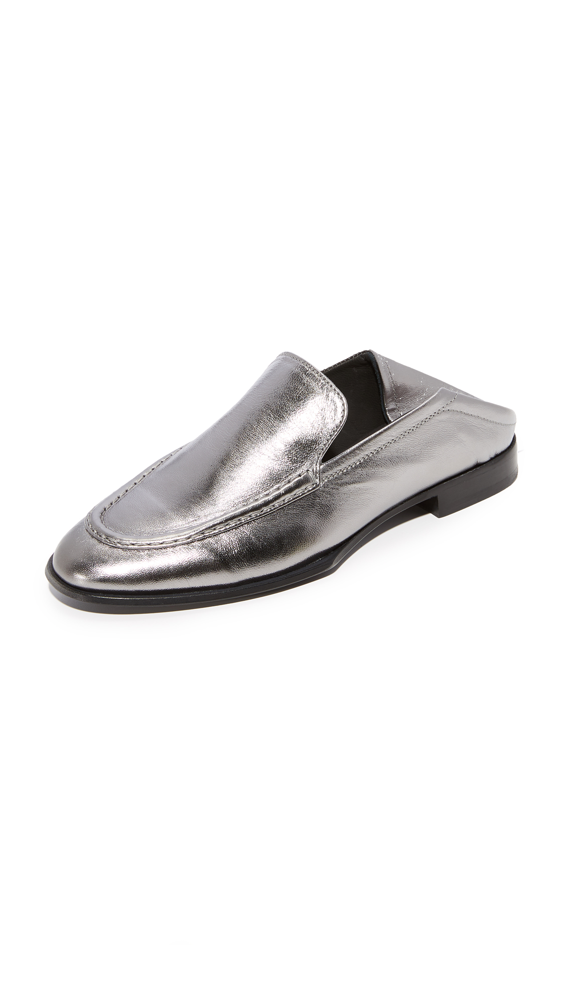 Rag & Bone Alix Convertible Loafers - Gunmetal