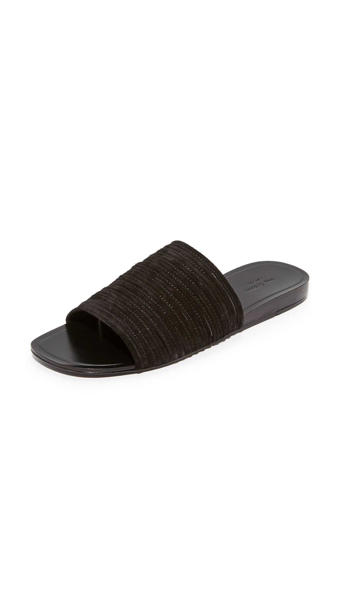 Rag & Bone Cameron Slides - Black