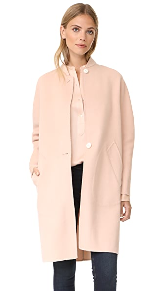 Rag & Bone Darwen Coat In Dusty Rose