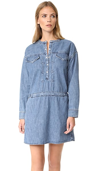 Rag & Bone Lyon Dress - Indigo