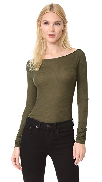 Rag & Bone Madison Long Sleeve Tee