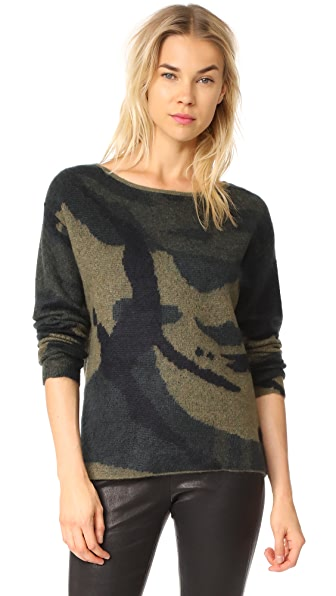 Rag & Bone Sinclair Sweater - Army