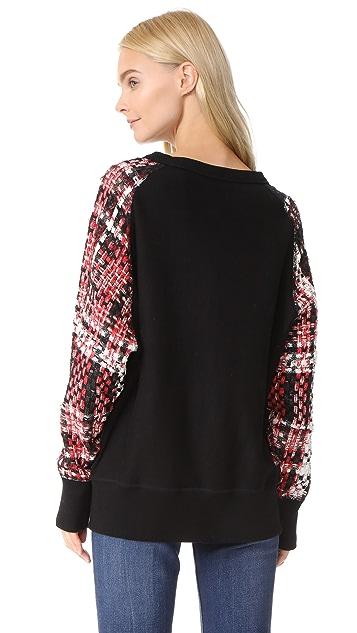 Rag & Bone Linton Racer Sweatshirt