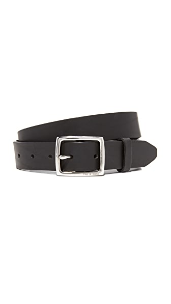 Rag & Bone Boyfriend Belt - Black