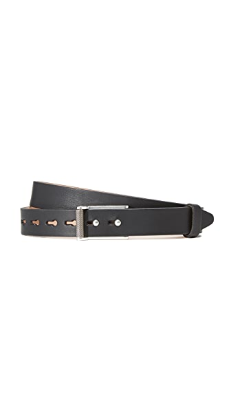 Rag & Bone Wren Slim Jean Belt - Black