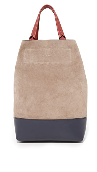 Rag & Bone Walker Convertible Tote - Warm Grey Indigo