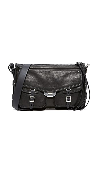 Rag & Bone Field Messenger Bag - Black