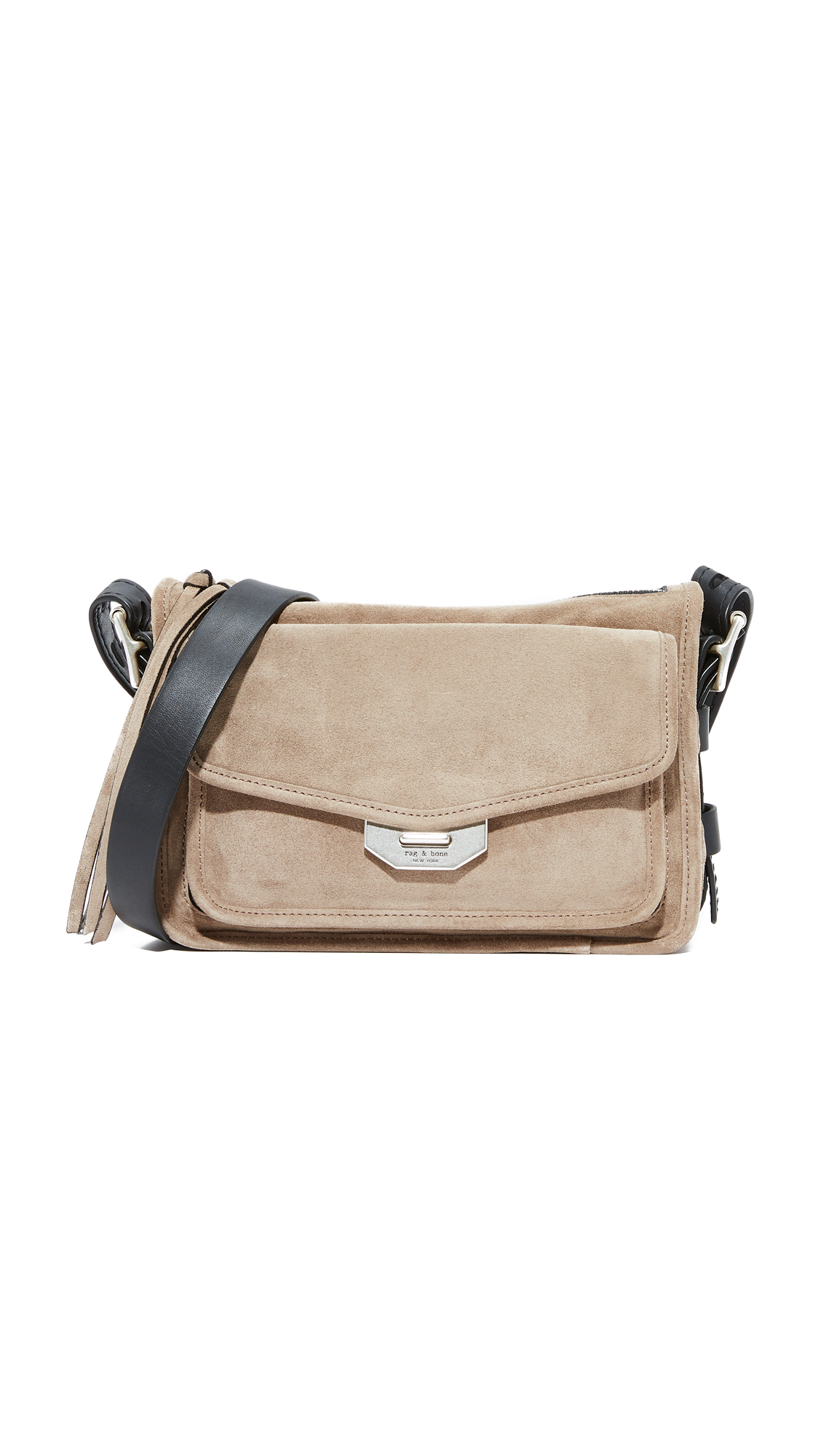 Rag & Bone Small Field Messenger Bag - Warm Grey