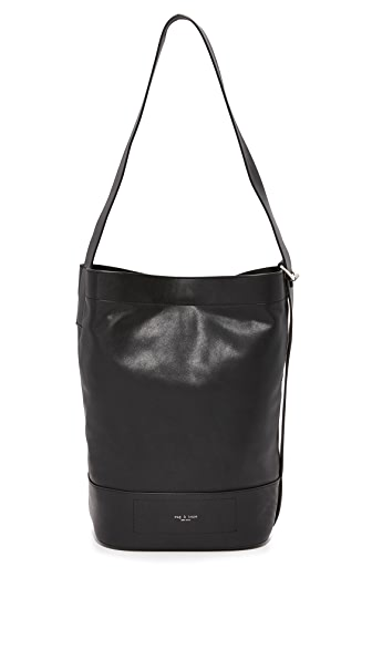 Rag & Bone Walker Sling Convertible Tote - Black