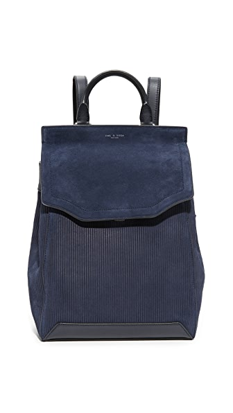 Rag & Bone Pilot Backpack II - Navy