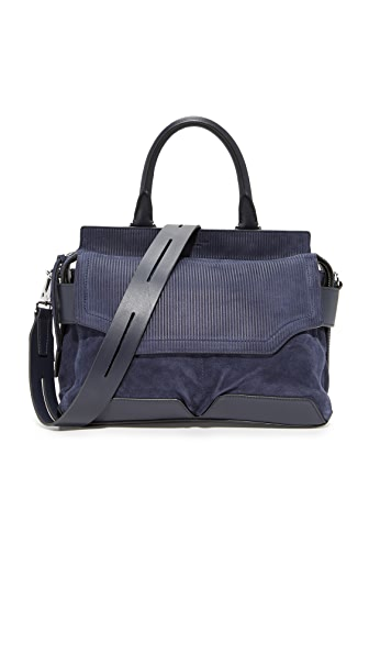 Rag & Bone Pilot Satchel - Navy