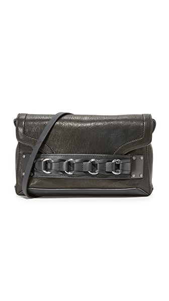 Rag & Bone Pilot Hero Clutch In Black
