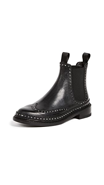 Rag & Bone Benson Booties In Black
