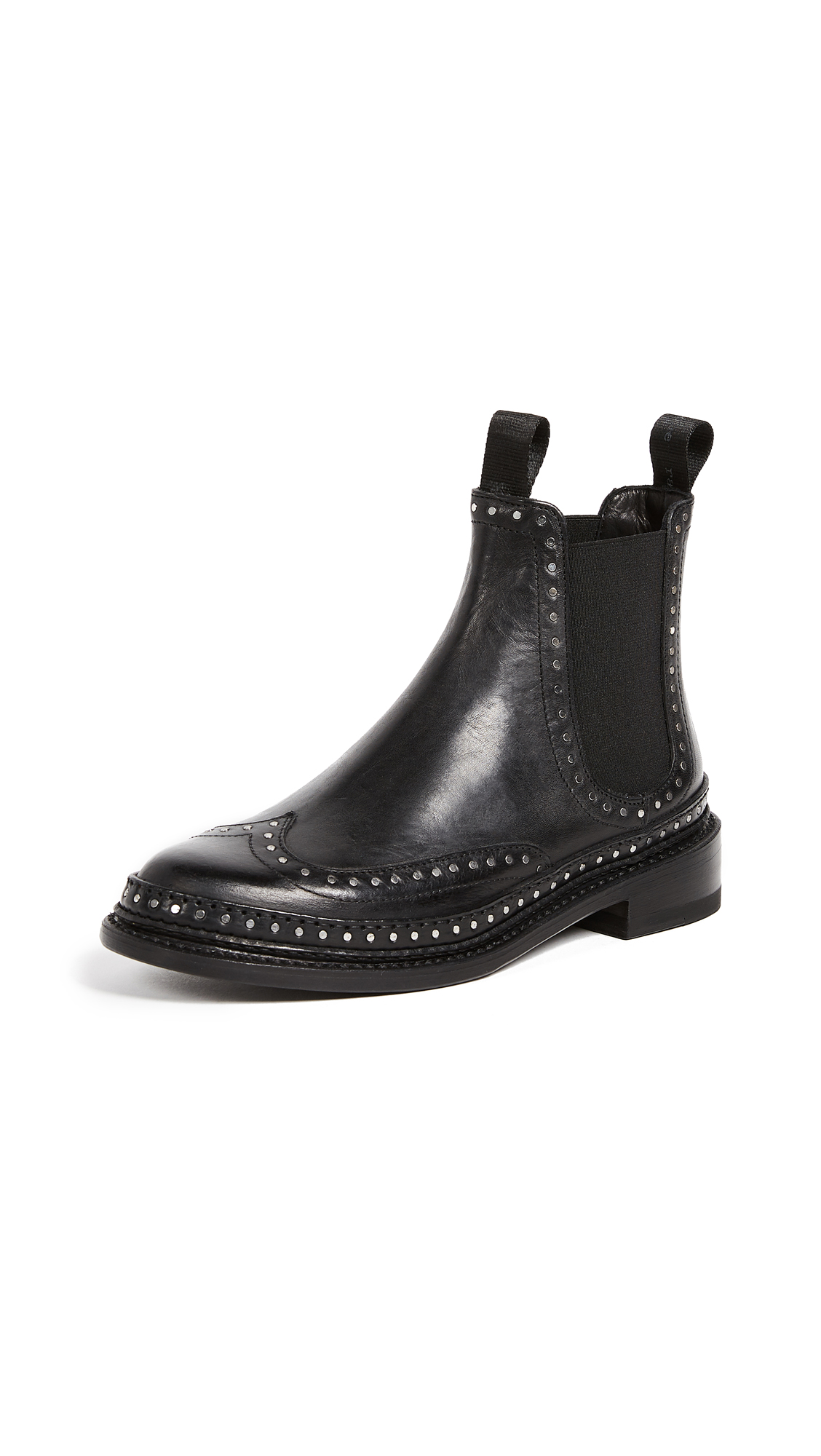 Rag & Bone Benson Booties - Black
