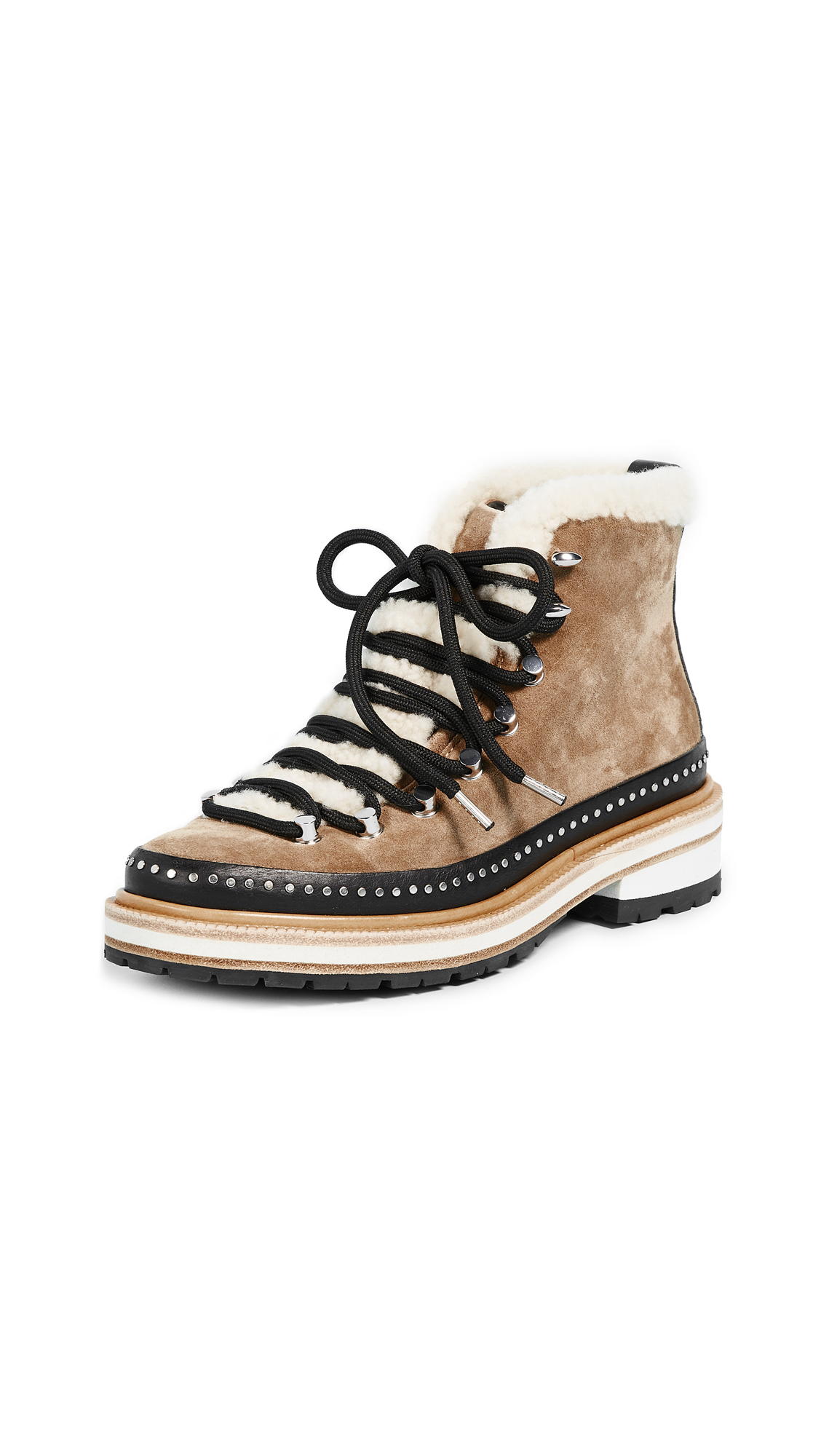 Rag & Bone Compass Booties - Camel
