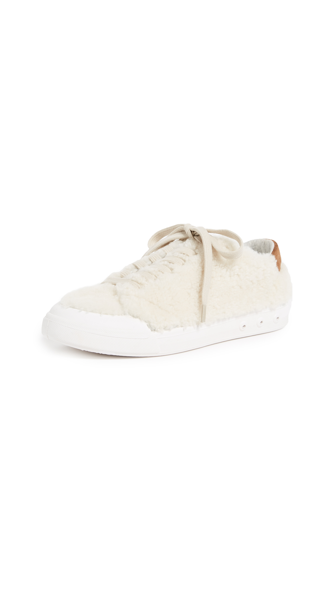 Rag & Bone Standard Issue Lace Up Sneakers - Ivory