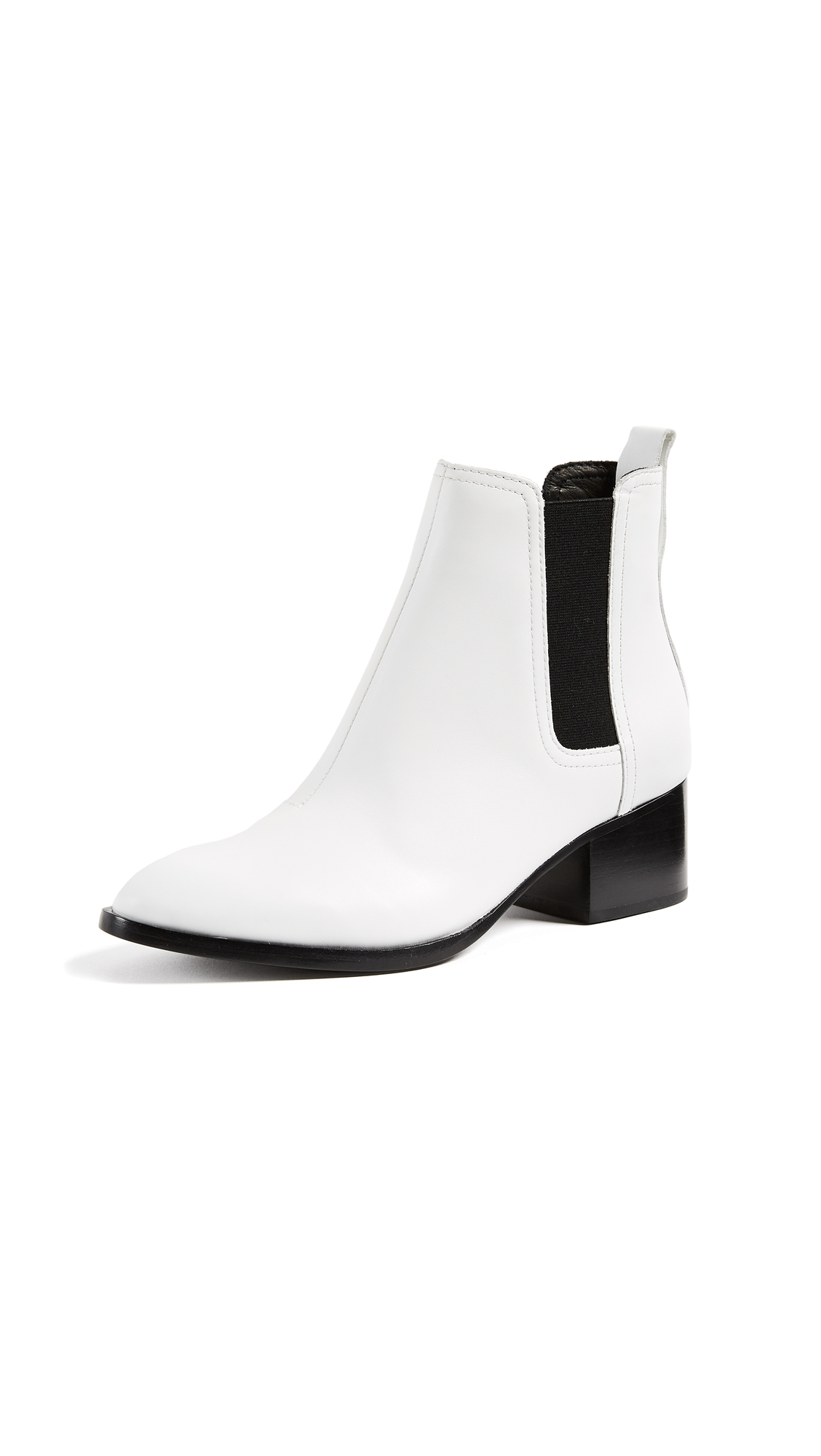 Rag & Bone Walker Booties - White