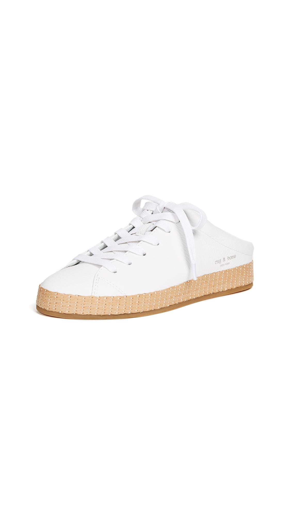 Rag & Bone RB1 Mule Sneakers - White