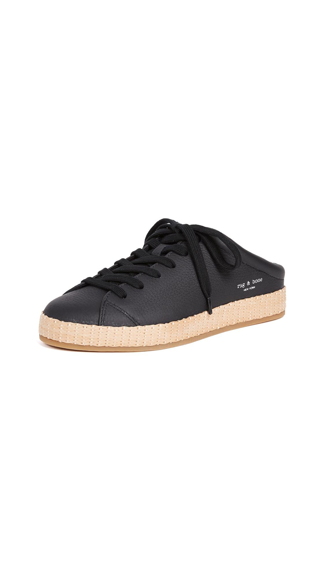 Rag & Bone RB1 Mule Sneakers - Black